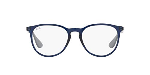 Ray-Ban 0RX7046 Gafas, TRANSPARENT BLUE, 51 Unisex Adulto