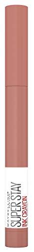 Maybelline New York Lippenstift, Super Stay Ink Crayon, Matt und langanhaltend, Nr. 95 Talk To The Talk, 1,5 g