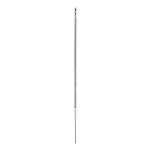 PFERD Kettensägefeile, rund, 200mm x 4,0mm, Spiralhieb, Classic Line, 11016203 – für das manuelle Schärfen von Sägeketten