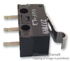 Best Price Square MICROSWITCH, SPDT D2F-L3 by OMRON Electronic Components