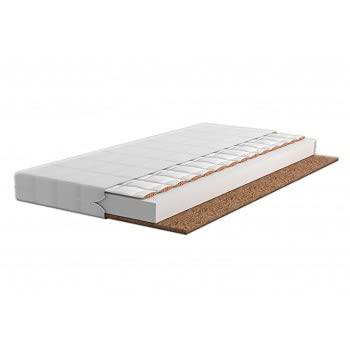 Children's Beds Home - Colchón de espuma de trigo sarraceno de fibra de coco - Espuma de trigo sarraceno Coco 11 cm - 190x90