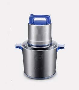 GJNVBDZSF Picadora de Carne Comercial 8L Picadora de Carne 1200W Eléctrica de Alta Potencia Licuadora de Carne picada de Acero Inoxidable Dispositivo de trituradora de ajo y Pimienta casera