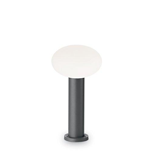 IDEAL LUX lampada da terra Armony luce bianca montatura antracite in alluminioARMONY-PT1-H40-ANTRACITE