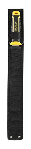Stanley Fmht10327-1 Isoliermesser mit Etui, 350 mm, Klinge aus Edelstahl, Griff aus 2 Materialien – Etui für mehr Sicherheit – gezackte Zähne für weichere Materialien