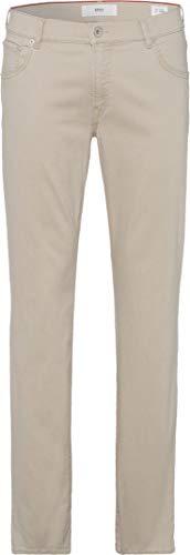 BRAX Herren Chuck HI FLEX SUMMER COLOUR Five Pocket Hose, Beige (Beige 56), W36/L34