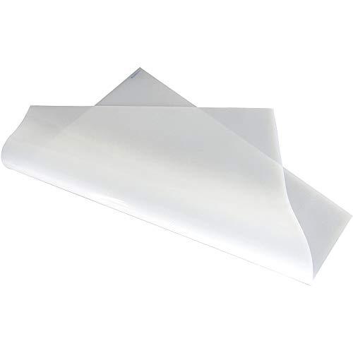 JKGHK Silikon-Platte Silikonmatte Silikonplatten Weiß, Mit Guter Isolierung (1 Stück),Thickness:6mm