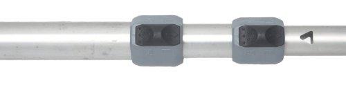 easysystem Stab 3-teilig ø 28 + 25 + 22 mm Alu