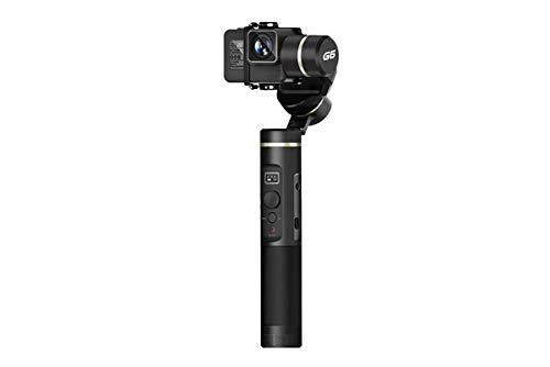 FeiyuTech G6 Estabilizador Manual para Cámara Negro - Estabilizadores de Video (Estabilizador Manual para Cámara, Negro, 1/4', 320°, 0-360°, 0-360°)