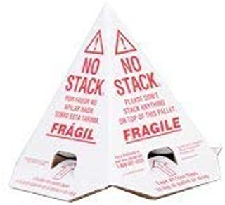 do not stack shipping cones