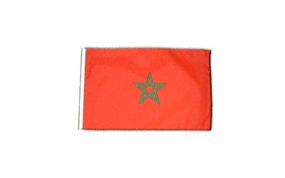 Fahne Flagge Marokko 30 x 45 cm