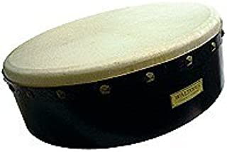 """15 """"قابل تنظیم Black Bodhran - ساز ایرلندی دست ساز - ترد"""