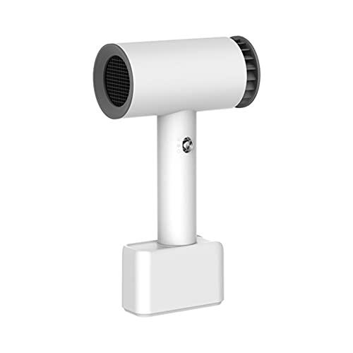 BUJIANJ Secador de Pelo inalámbrico Recargable Recargable Viaje con secador de Pelo secador inalámbrico Secador de soplado for Arte de Pintura de Arte Camping al Aire Libre (Color : White, Size : 1)