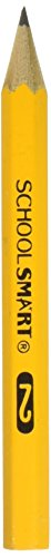 School Smart Pre Sharpened Compass Replacement Pencils with Medium Lead - 3 1/2 in - Box of 144