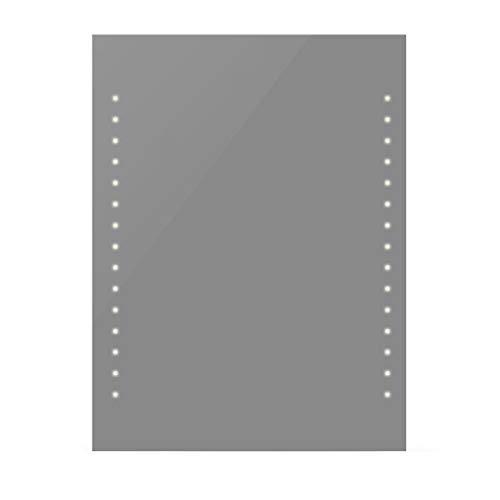 vidaXL Espejo del Baño con Luces de LED en Pared 60 x 80 cm (Largo x Ancho)