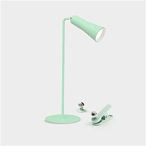 MQJ Lámpara de Mesa Lámpara de Escritorio de Control Táctil Lámpara de Escritorio Led con 3 Niveles de Atenuación Multi Función Enchufe Enchufe la Lámpara de Mesa de Doble Propósito, 4000K Luz Blanca