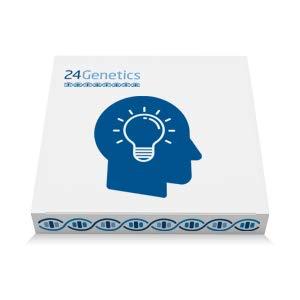 24Genetics: Test del DNA del talento - Test genetico del talento e della personalità - Include il kit del DNA - rapporto ora disponibile in italiano