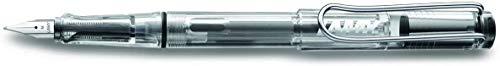 LAMY vista Füllhalter 012 – Beliebter Jugendfüller in einer Klarsicht-Variante mit ergonomischem Griff – Federstärke EF