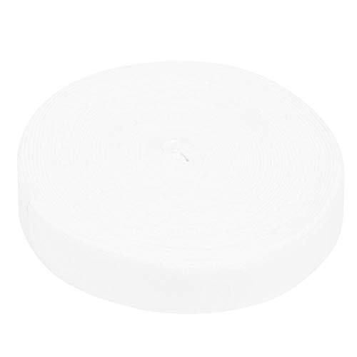 Rosvola Banda para el Sudor de Raqueta, envolturas de Raqueta de bádminton, Accesorio de Equipamiento Deportivo Blanco/Naranja/Negro, Herramienta Deportiva al Aire Libre para(White)