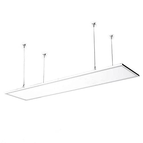 LEDKIA LIGHTING Pannello LED 120x30cm 40W 4000lm LIFUD + Kit di Sospensione Bianco Naturale 4000K - 4500K