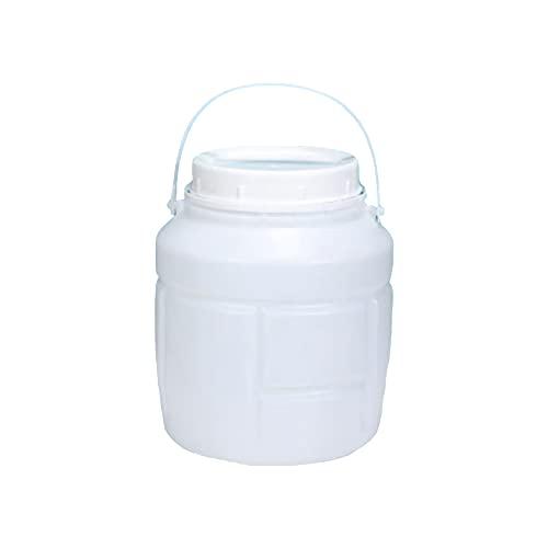 MNSSRN Almacenamiento a Prueba de Humedad para el hogar Cubo de arroz Grande, Cocina Cubo de Almacenamiento de arroz de Gran Capacidad Cubo de plástico Sellado Tanque de Agua,5L