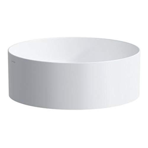 Laufen Living Square Waschtisch-Schale, ohne Hahnloch, ohne Überlauf, 380x380, weiß, Farbe: Weiß mit LCC
