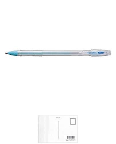 トンボ鉛筆 液体のり アクアピット 強力ペンタイプ PT-WP + 画材屋ドットコム ポストカードA