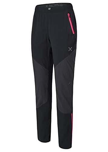 MONTURA - Pantalón técnico para mujer Vertigo Tekno - negro y rosa
