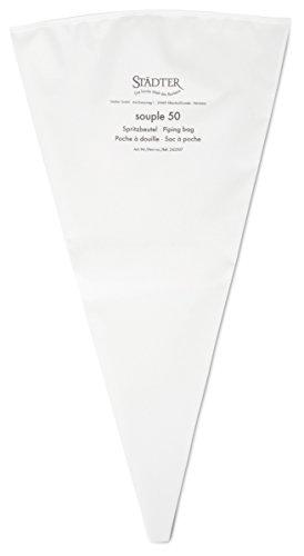 Städter Spritzbeutel, weiß, 50 cm
