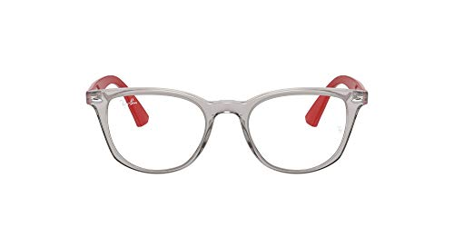 Ray-Ban 0ry1601 Gafas, Transparent Grey, 46 Unisex