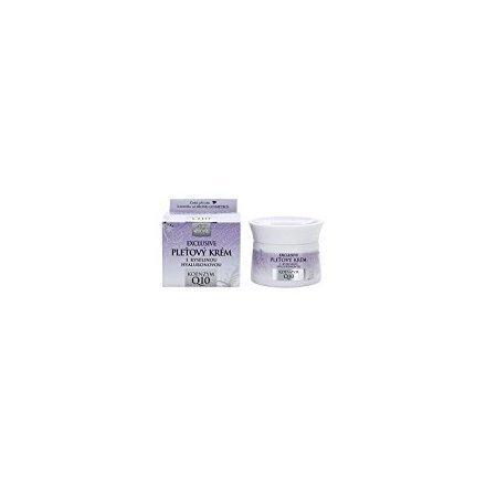BIO EXCLUSIVE + Q10 Day Cream with Hyaluronic Acid / EXCLUSIVO de BIO + Q10 crema de día con ácido hialurónico 50ml fabricado en la República Checa
