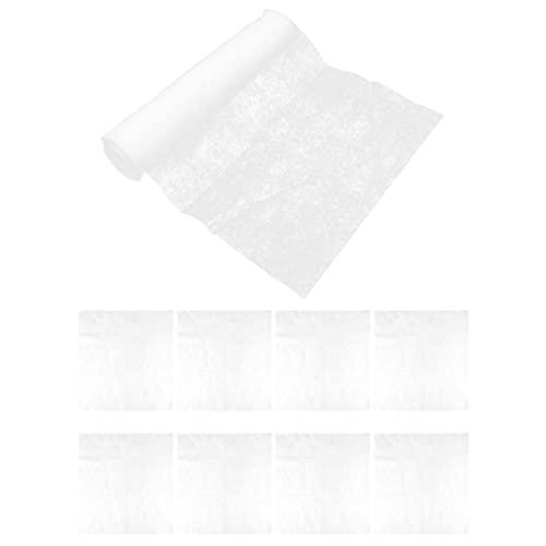 HEMOTON Dunstabzugshaube Filter Öl Filter Papier Haube Fett Filter Fume Haube Aufkleber Non Woven Stoff Öl Absorbieren Papier Dunstabzugshaube Zubehör für Küche