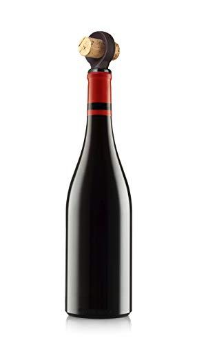 Vacu Vin, Set de 2 Tapones para Botellas de Silicona