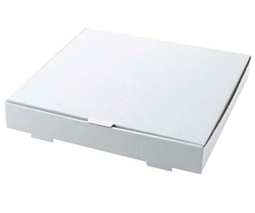We Can Source It Ltd - Caja para pizza de 18 cm, color blanco, totalmente compostable y reciclable, paquete de 25