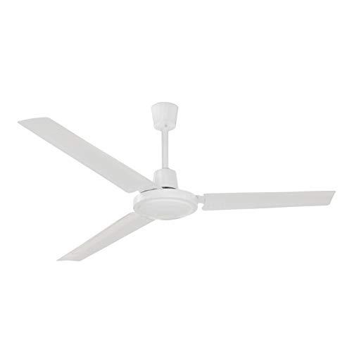 EXO Lighting - Ventilatore da soffitto senza luce FUJIL bianco Ø140cm.