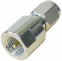 Unbekannt 10 Stück FME Adapter FME-Stecker auf SMA-Stecker