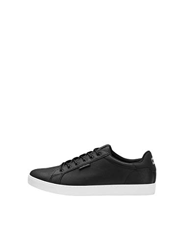 JACK & JONES Jfwtrent PU 19 Noos, Zapatillas Hombre, Gris (Anthracite Anthracite), 44 EU