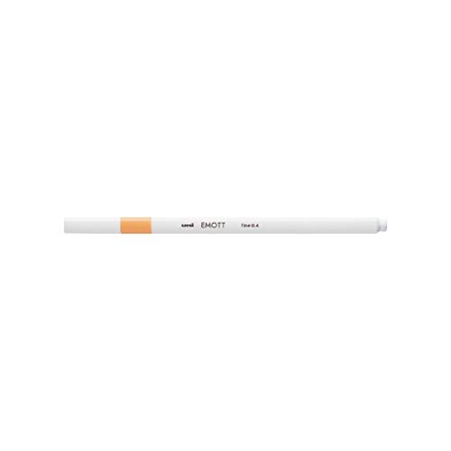 三菱鉛筆 EMOTT(エモット) 水性サインペン PEM-SYライトオレンジ54 【× 5 本 】