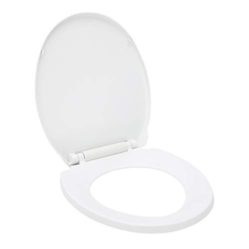 MorNon Asiento de Inodoro Universal Sistema de Fijación Que no se Afloja para Baño Inodoro Tapa del Inodoro Montaje Fácil