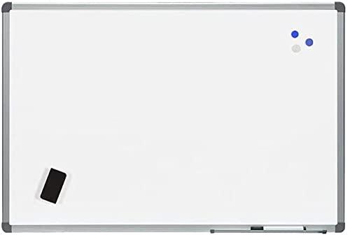 Rocada   Pizarra Blanca Magnética 150 x 120 con Marco de Aluminio   Pizarra de Pared Fácil de Borrar   Lacada con Marco de Aluminio Anodizado   Para Escritura con Rotuladores de Borrado en Seco