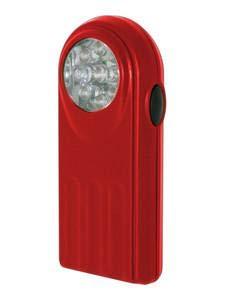 Linterna Tipo petaca 9 Leds. De Colores 60.370 Electro DH 8430552122370