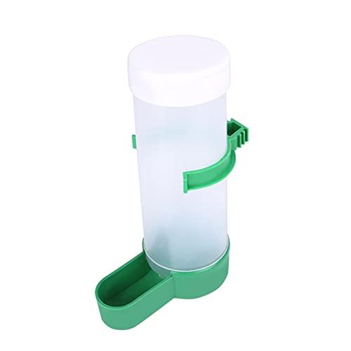 Zzalo 2 stücke Pet Vogel Trinkgerät Produkte Papagei Automatische Wassereinzug Pet Produkte (Color : White, Size : One Size)