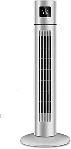 ZGDXF Aire Acondicionado portátil de la Torre del refrigerador Fan sin Sentido con el Tiempo de Control Remoto y la ventiladora eléctrica del Piso de bajo Ruido 3 ajustes de Velocidad pa
