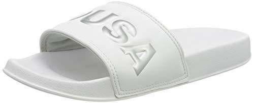 DC Shoes Damen DC Slide SE Badeschuhe, Weiß (White/Silver Ws4), 38 EU