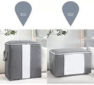 Vimax - Storage Bags - Qualify Storage Bag Box Portable Organizer Non Woven Underbed Pouch Storage Box Bamboo Clothing Sto...