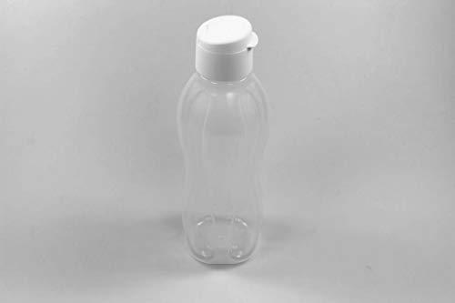 Tupperware Botella Ecológica Click de 1,0 L Blanco Tapa de Clip 37771