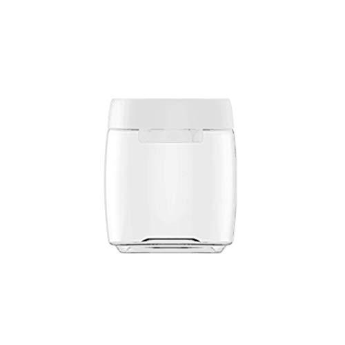 保存容器真空密封されたプラスチック缶食品保管ボックス耐熱性冷蔵庫に入れることができます大容量コーヒーを保管できます茶菓子全粒穀物キッチン保管に適しています (L)