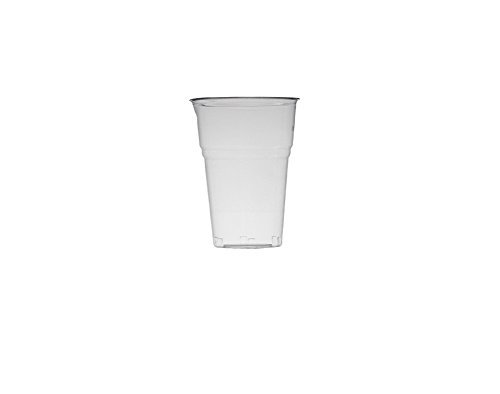 ECOZEMA Bicchiere biodegradabile e compostabile per Bevande Fredde in PLA 400cc tacca 300cc