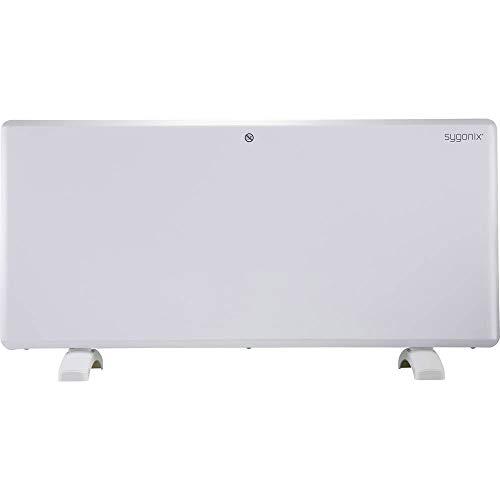sygonix SY-4288018 Digitale radiator met voeten, 2000 W, wit