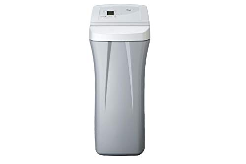 Whirlpool WHES30E 30,000 Grain Softener   Salt & Water Saving Technology   NSF Certified   Automatic Whole House Soft Water Regeneration, 0.75 inches, Off-White