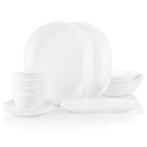 Corelle Party Pack Serving Bowls and Platters, 17-Piece